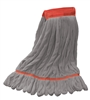 "<!zh>Wholesale Microfiber Looped End Wet Mops LARGE | 5"" BAND 