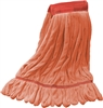 "<!l>Wholesale Microfiber Looped End Wet Mops LARGE | 5"" BAND 