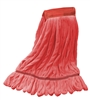 "<!t>Wholesale Microfiber Looped End Wet Mops LARGE | 5"" BAND 