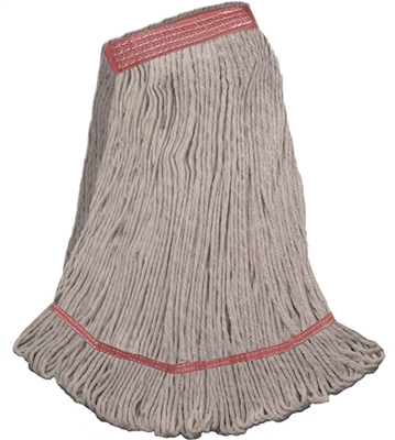 <!b>Wholesale Wet Mops - <strong>COTTON | NARROW BAND | LARGE | 12/Case</strong>
