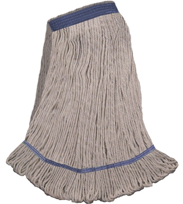 <!c>Wholesale Wet Mops - <strong>COTTON | NARROW BAND | X-LARGE | 12/Case</strong>