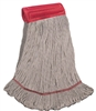 <!e>Wholesale Wet Mops - <strong>COTTON | WIDE BAND | LARGE | 12/Case</strong>