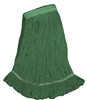 <!e>Wholesale Wet Mops - <strong>PREMIUM BLEND | LOOPED END | NARROW BAND | MEDIUM | GREEN | 12/Case</strong>