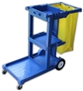 <!a>Wholesale Janitor Carts - <strong>BLUE | INDIVIDUAL</strong>