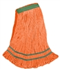 <!i>Wholesale <strong>ANTIMICROBIAL</strong> Wet Mops - <strong>PREMIUM | ORANGE | MEDIUM | NARROW BAND | 12/Case</strong>
