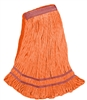 <!ii>Wholesale <strong>ANTIMICROBIAL</strong> Wet Mops - <strong>PREMIUM | ORANGE | LARGE | NARROW BAND | 12/Case</strong>