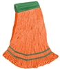 <!j>Wholesale <strong>ANTIMICROBIAL</strong> Wet Mops - <strong>PREMIUM | ORANGE | MEDIUM | WIDE BAND | 12/Case</strong>