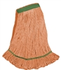<!g>Wholesale Wet Mops - <strong>PREMIUM BLEND | LOOPED END | NARROW BAND | MEDIUM | ORANGE | 12/Case</strong>