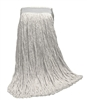 <!b>Wholesale Wet Mops - <strong>CUT END | RAYON | NARROW BAND | 20 OZ | 12/Case</strong>