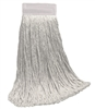 <!f>Wholesale Wet Mops - <strong>CUT END | RAYON | WIDE BAND | 20 OZ | 12/Case</strong>