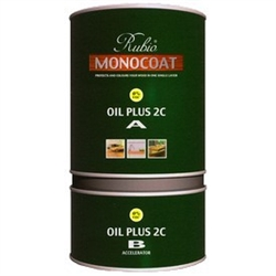 Rubio Monocoat Natural Oil Finish 1L plus Accelerator Colors