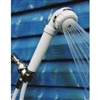 Handheld Shower Dechlorinator System - Housing with Filters - white