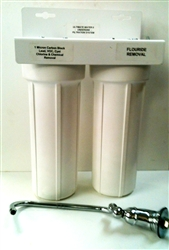 Under Counter Water Filtration System (dual) - Housing