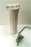 Under Counter Water Filtration System (single) - Housing