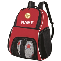 HIGH FIVE BALL BACKPACK - RED