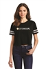 District Women's Scorecard Crop Tee