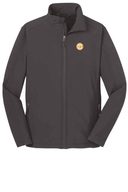 Ladies Core Softshell Jacket - Grey