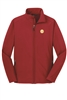 Ladies Core Softshell Jacket - Red