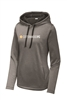Sport-Tek Ladies Heather Fleece Hooded Pullover