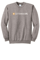 Youth Essential Fleece Crewneck Sweatshirt - Athletic Heather