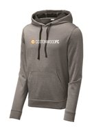 Sport-Tek Heather Fleece Hooded Pullover