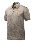 Mens Electric Heather Polo