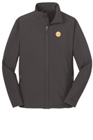 Youth Core Softshell Jacket - Grey