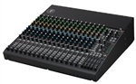 Mackie 1604VLZ4 16-Channel 4-Bus Compact Mixer, P/N 2040765-00 3qtr_shot