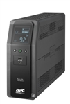 APC Back UPS PRO BR 1000VA (BR1000MS), SineWave, 10 Outlets, 2 USB Charging Ports, AVR, LCD interface front_shot