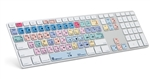 Logickeyboard ADVANCED Apple Ultra Thin Alu Keyboard for Adobe Premiere Pro CC, LKBU-PPROCC-AM89-US 3qtr