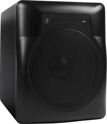 "Mackie MRS10 10"" Powered Studio Subwoofer (P/N 2048460-00) 3qrt_shot"