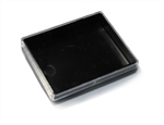 Empty 50 gram Rainbow Container-BLACK