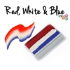 TAG 1-Stroke: Red, White and Blue