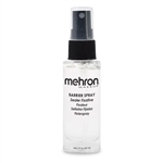 Barrier Spray Mehron 2 oz.