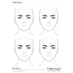 Sally-Ann Lynch: 4 Adult Heads