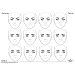 Sally-Ann Lynch: 12 Adult Heads_Horizontal