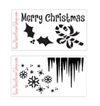 Boost Stencil Set  Winter and Holiday