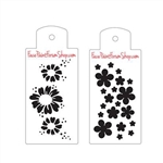 Boost Stencil Set Daisies