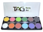 TAG Regular 12 Color Palette