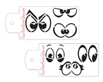 Boost Stencil Set Character Eyes