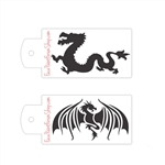 Boost Stencil Set Dragons