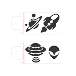 Boost Stencil Set: Outer Space