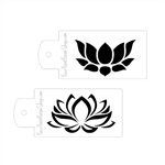 Boost Stencil Set Lotus Flowers