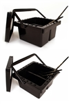 Black Brush Cleaning Basin