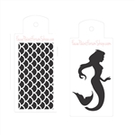 Boost Stencil Set Mermaid & Scales
