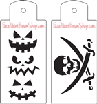 Boost Stencil Set Skull and Swords