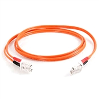 Fiber Optic Cable, LC to LC Duplex Multimode - 5 Meter