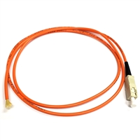 Fiber Optic Cable, SC to Pigtail, 62.5/125 - 1 Meter