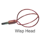 "FIB222 BES Manufacturing Fiberfish 2 Wisp Head for 3/16"" rods"