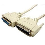 Cables Unlimited PCM-1600-25<br>25' 25C Strt Thru (Par/Serial) DB25 M/F